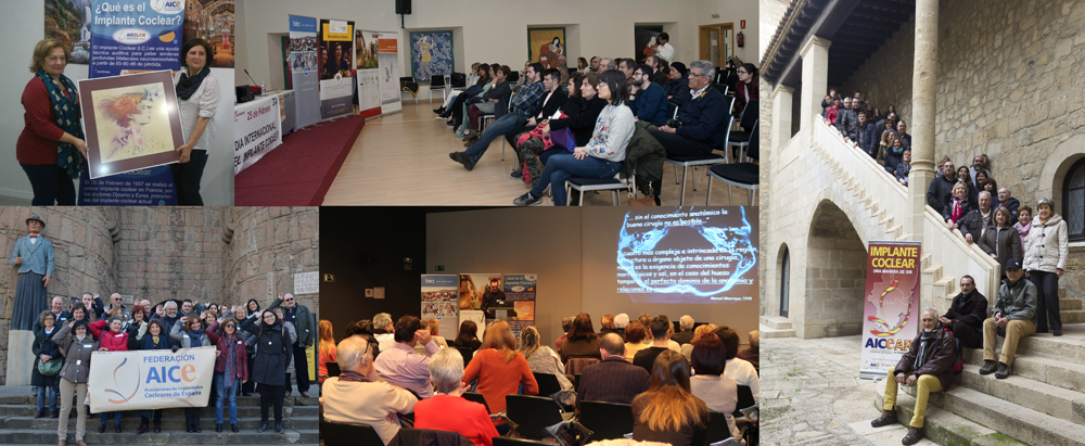 Photos of the Cochlear Implant Day celebrations in Spain