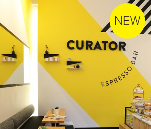 NEW OPENING: THE CURATOR