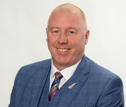 CMUA board chair Murray Strong