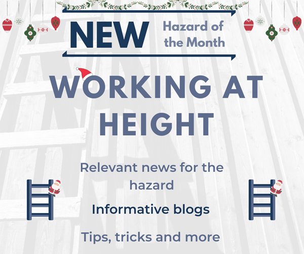 New Hazard of the Month: Working at Height