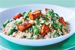 Recipe of the Month - Moroccan Spiced Pumpkin & Couscous Salad