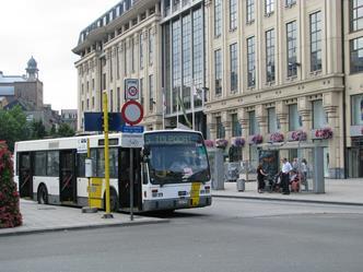 busstation Gent Zuid