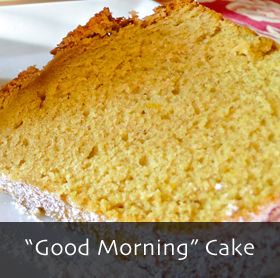 Good Morning Coffee Cake with Pumpkin Seed Oil