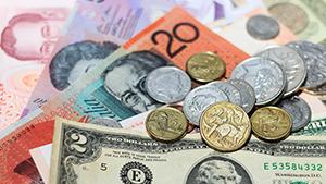 Australian and international money