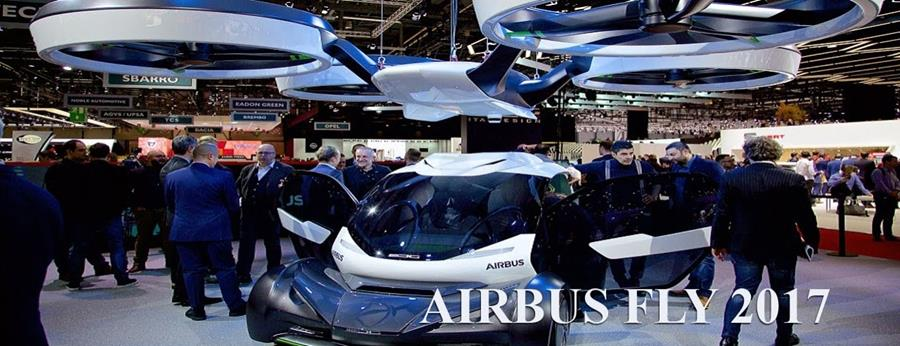 Airbus flying cars