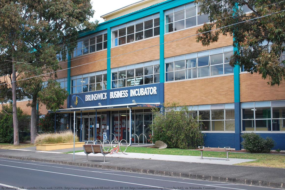 The Brunswick Business Incubator building