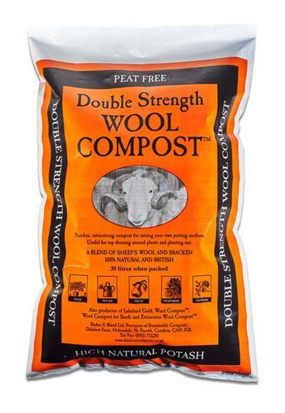 Arrington Garden Centre Double Strength Wool Compost