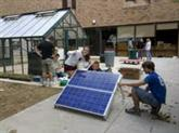 Community Highlight: Greening at a Local High School Greenhouse