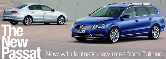 New Passat now available with low rates