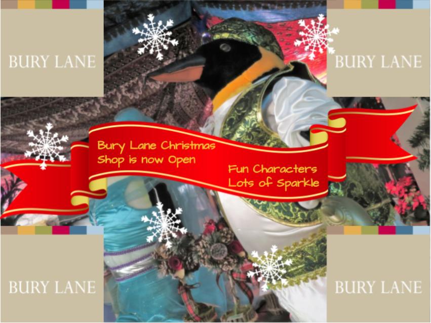 Bury Lane Farm Shop Christmas Shop Now Open 2018 Newsletter