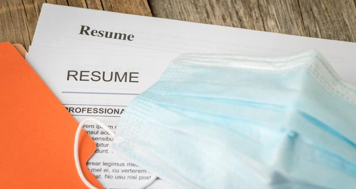 Resume and protective mask