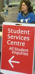 Where to find Student Services...