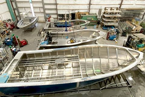 New boats built at Bridgeview Marine