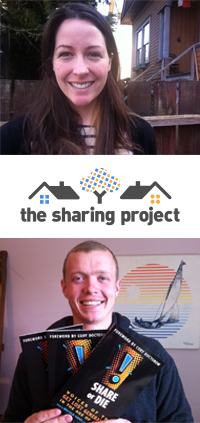 Gala and Chris of The Sharing Project