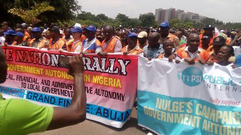 L'ISP soutient le NULGE dans sa lutte en faveur de l'autonomie des administrations locales au Nigeria