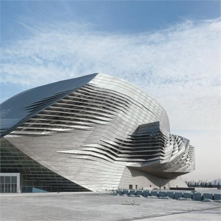 Dalian International Conference Center by Coop Himmelb(l)au