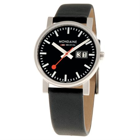 Mondaine Evo Big Date now available at Dezeen Watch Store