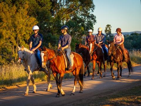 Wine and Ride tour by Murchessons Equine