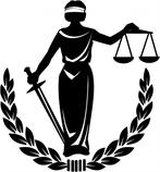 lady justice with scales, blindfold, and sword
