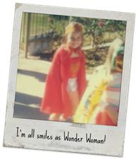 me as wonder woman
