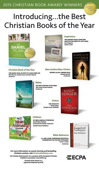 Christian Book Awards® featured in eBlast sent to Christianity Today lists