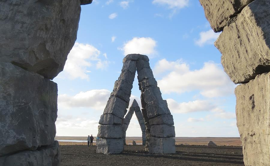 The almost unknown Icelandic Henge.