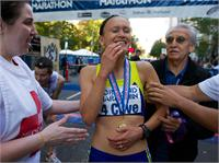 Colleen Little WINS the Portland Marathon