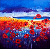 Poppy Field. Jean Feeney