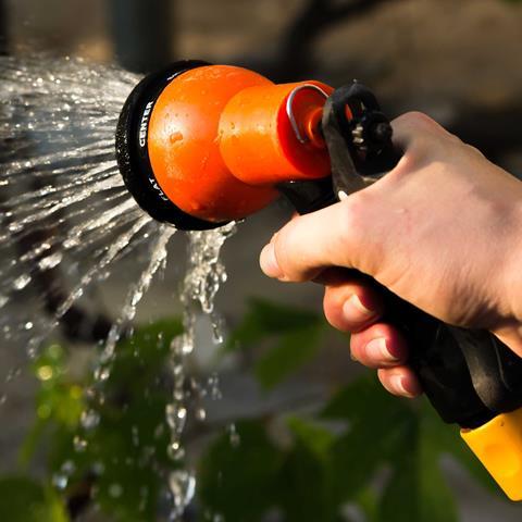 Hand watering