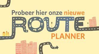 Probeer hier onze nieuwe routeplanner