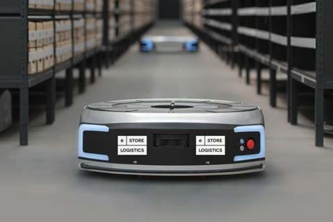 Robots used in warehouses
