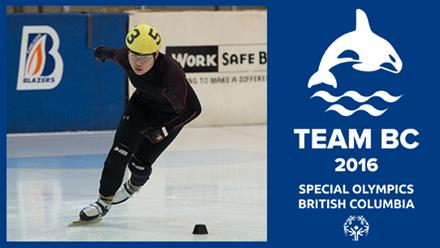 Team BC 2016 speed skater Nicky Chow