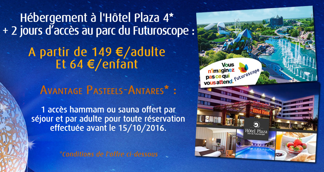 "Offre ""Flash"" Futuroscope"