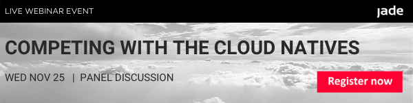 Competing with the cloud natives webinar