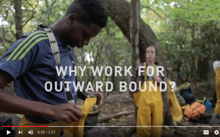 Why Work For Outward Bound?