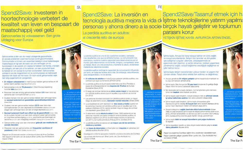 Image - examples of three of the summaries - these ones are in Dutch, Spanish and Turkish