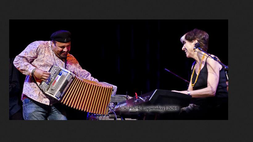 Terrance Simien and Marcia Ball