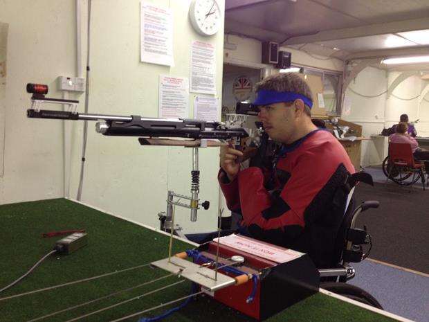 Sporting marksman Stu Wright