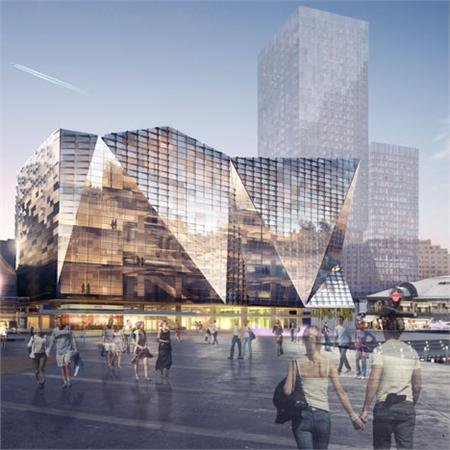 OMA, Hassell and Populous to redevelop Sydney's Darling Harbour