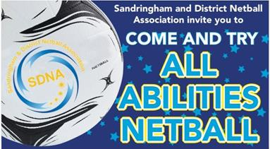 Come and Try All Abilities Netball