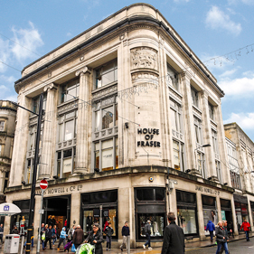 Image of House of Fraser, Cardiff, Cooke & Arkwright
