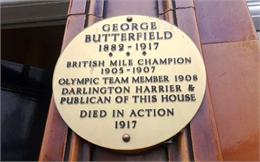 George Butterfield Plaque, Hole in the Wall Pub