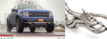 Ford Raptor Exhaust Install Video