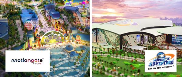Motiongate Dubai and IMG Worlds of Adventure