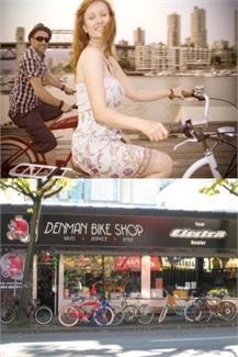 denman bike shop now offering a great perk for modo members