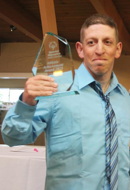 2015 SOBC Athletic Achievement Award winner Mike Palitti