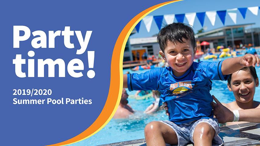 Jellie Park pool party