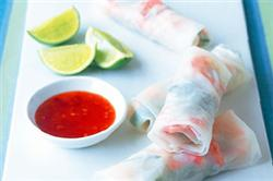 Recipe of the Month - Prawn Rice Paper Rolls