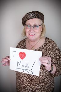 Pamela Leyman loves Modo
