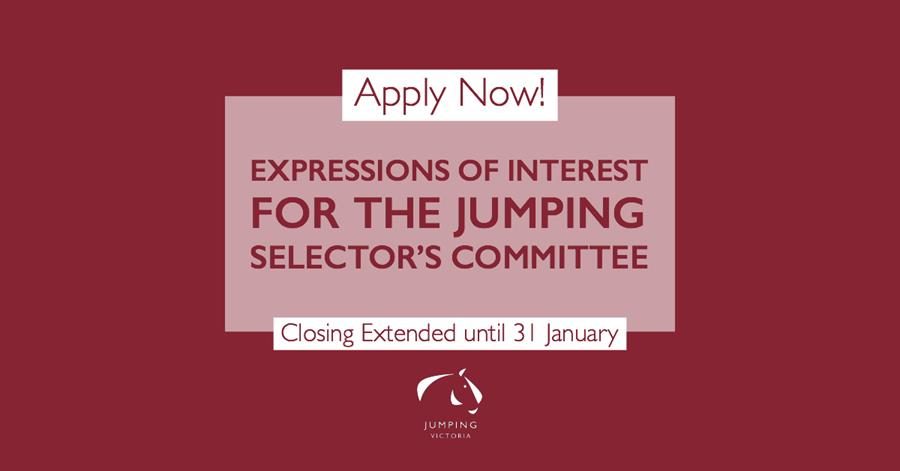 EOI Jumping Selector's Committee close today